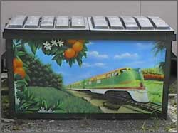 Photo of Rail Road Dumpster