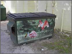 Photo of Spoonbill Dumpster